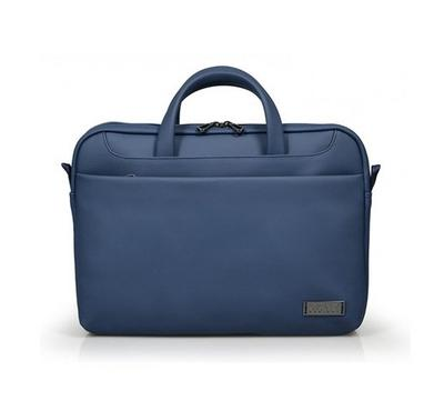 Zurich Top Load Laptop Bag, Premium Quality, Compatible For Surfaces, Shoulder Strap, Blue