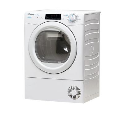 Candy SmartPro Smart Condenser Clothes Tumble Dryer, 8.0KG WiFi White