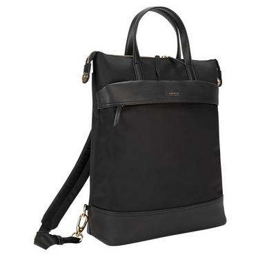Targus, Newport Convertible Tote 2-1 Backpack, 15.6 inch, Black