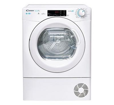 Candy SmartPro Smart Condenser Clothes Tumble Dryer, 9.0KG WiFi White