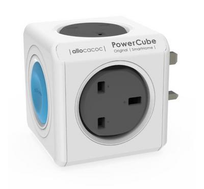 Allocacoc, Powercube Original Smarthome Uk, 4-Way