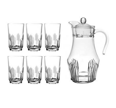 Arcopal, 7 Pcs Glass Drink Set