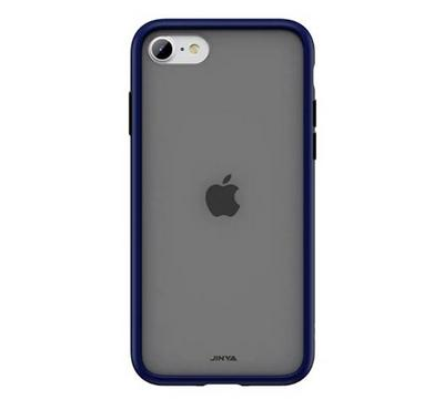 Jinya SandyPro iPhone SE Protecting Case, Complete Protection, Soft Silicone Frame, Blue