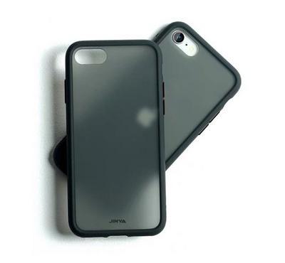 Jinya SandyPro iPhone SE Protecting Case, Complete Protection, Soft Silicone Frame, Black