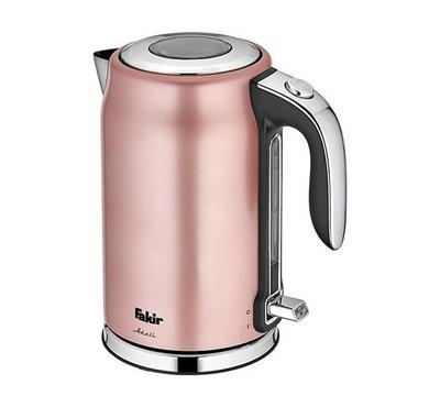 Fakir Adell Electric Kettle, 1.7L, 1800-2200W, Rose