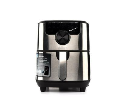 Princess Smart Aerofryer, 4.5L, 1500W, Timer,Stainless Steel. Black Stainless