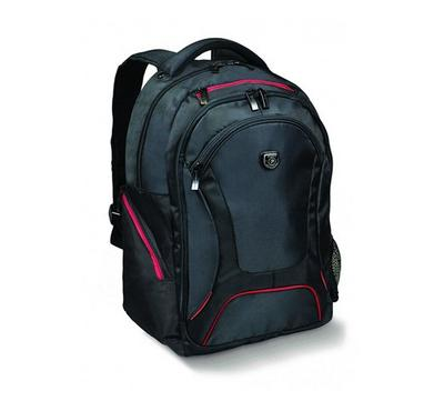 Courchevel 17.3 Backpack, Premium Quality, Water Proof, Bottle Carrier, Black