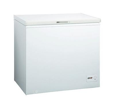 Midea Chest Freezer 10.2 Cu.ft/290 L, With Lock And Key And Handle, White