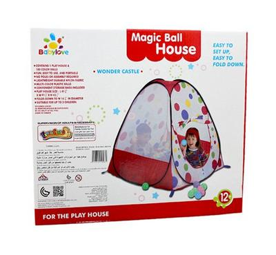 Baby Love, Magic Ball House For Kids With 100 Balls