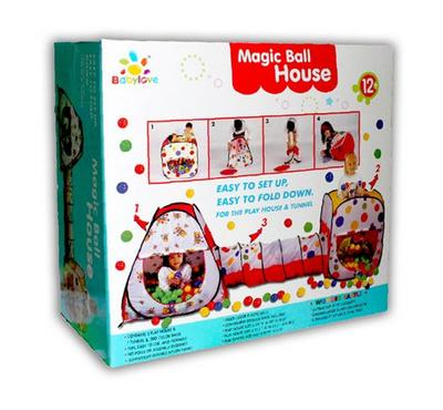 Baby Love, Magic Ball House With 200 Balls 19-L1629-