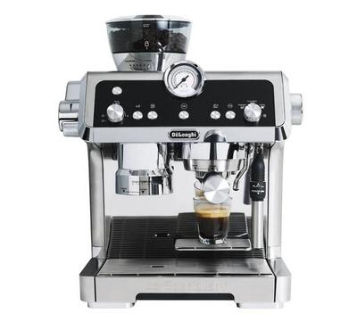 Delonghi La Specialista Pump Espresso Coffe Maker, 1450W, 19 bar, 2L Capacity,Metallic