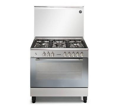 Laross 90X60 Freestanding Cooker,5 Gas Burners,Full safety,Stainless Steel