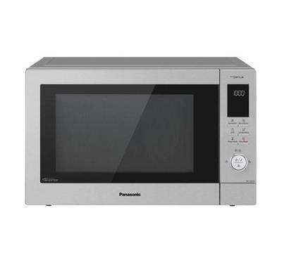 Panasonic 34L Inverter Microwave Oven with Air Fryer, Silver.
