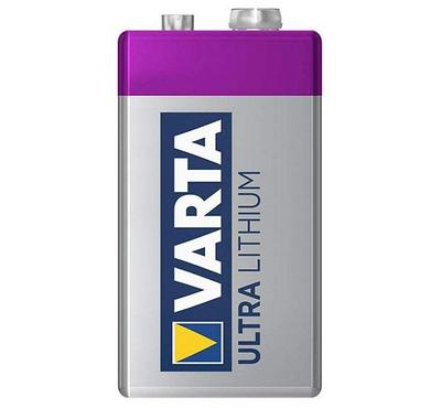 Varta, 9V Ultra Lithium Battery, Blue