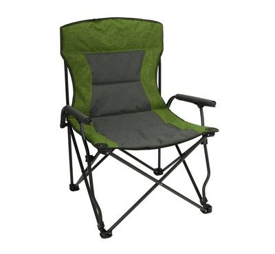 Homez, Foldable beach chair, green and black