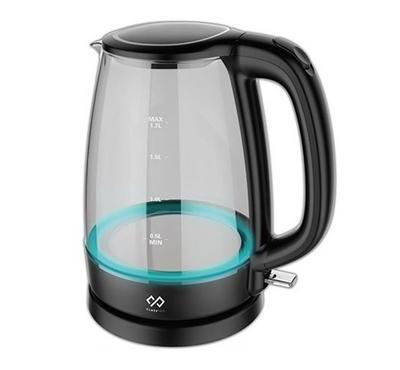 كلاس برو غلاية ماء كهربائية زجاجية، 1.7 لتر