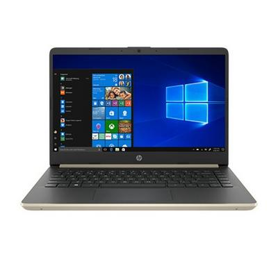 HP notebook 14, 14 Inch, Core i5, 256GB SSD, 4GB RAM, Pale Gold