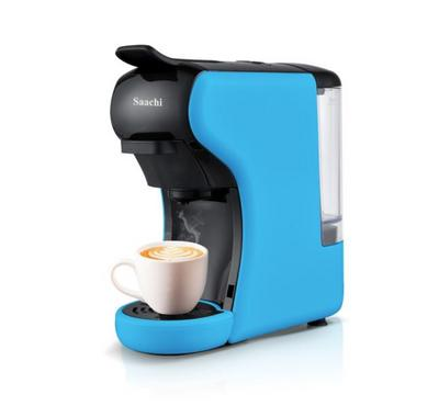 ساشي صانعة قهوة متعددة، 600 مللي لتر، 19 بار، اسود