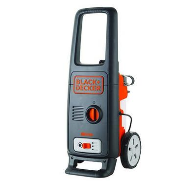 Black & Decker, 1600W Pressure Washer, 125 Bar, Black and Orange