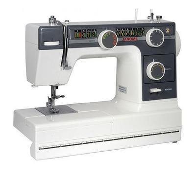جانوم، ماكينة خياطة محمولة، أبيض