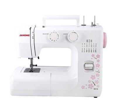 Janome Zigzag Sewing Machine, White