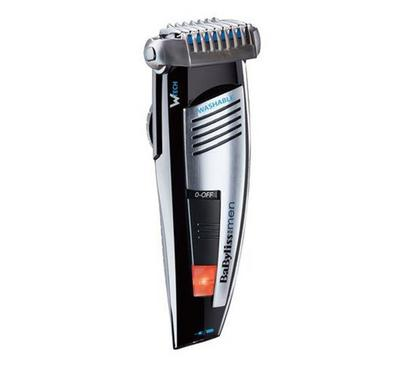 Babyliss 15mm Cordless Washable Trimmer WET & DRY, Black &Gray.