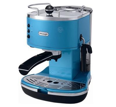 Delonghi, Coffee Maker,15 bar pump pressure, Blue