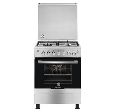 Electrolux, Gas Cooker, 60*60, Stainless Steel