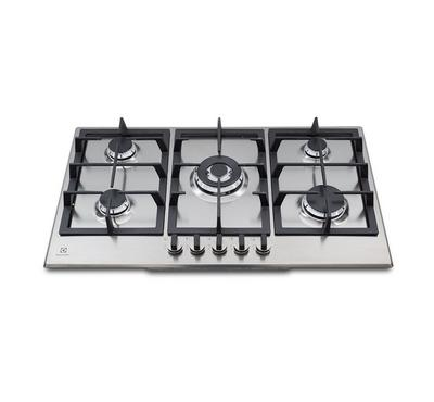 Electrolux, 90cm Gas Hob, Stainless Steel