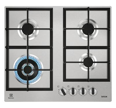 Electrolux, 60cm Gas Hob, Stainless Steel