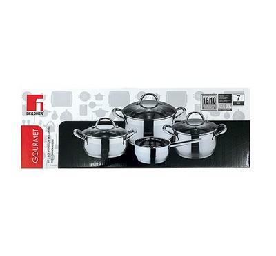 Bergner, 7 pcs Cookware Set