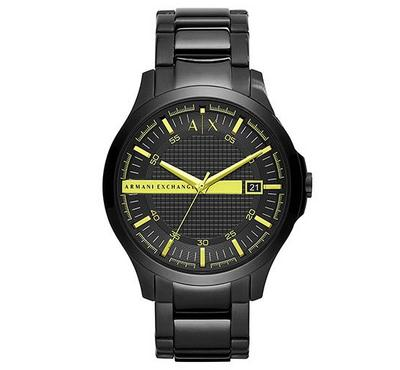 Armani Exchange, Men's Watch, Black With Black Dail