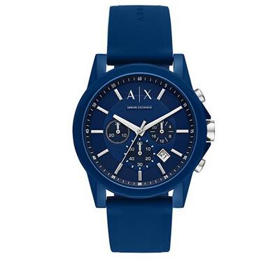 Armani Exchange, Men's Watch, Blue With Blue Dail