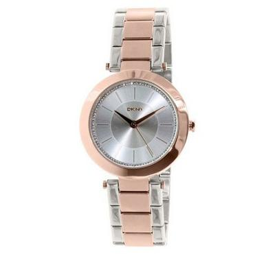 Dkny, Women's Watch, Silver With Silver Dail
