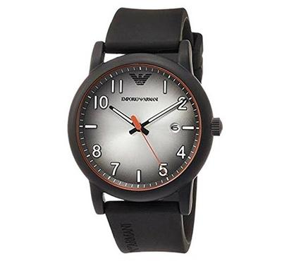 Emporio Armani, Men's Watch, Black With Black Dail
