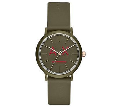 أرماني إكستشينج، ساعة نسائية، مينا خضراء، خضراء