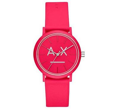 Armani Exchange, Women's Watch, Pink With Pink Dail