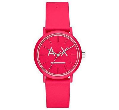 أرماني إكستشينج، ساعة نسائية، مينا وردية، وردية