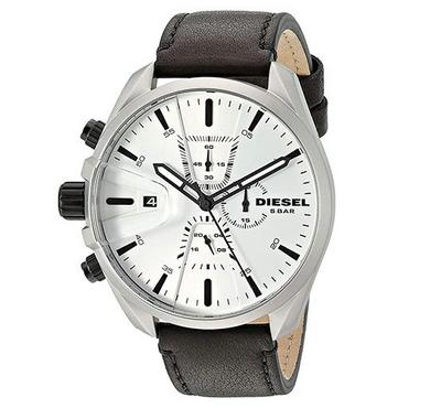 Diesel, Men's Watch, Black With White Dail