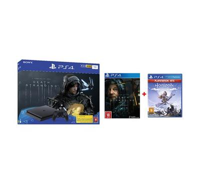 PlayStation 4, 1TB, with 1 Game (Death Stranding)