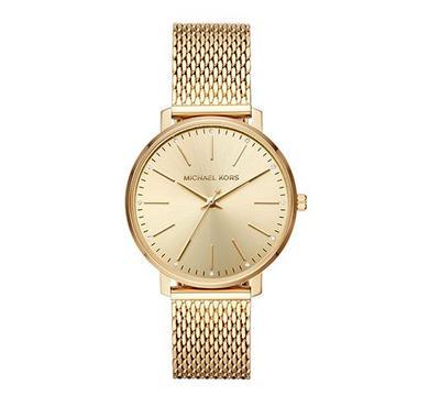 مايكل كورس، ساعة نسائية، مينا ذهبية، ذهبية