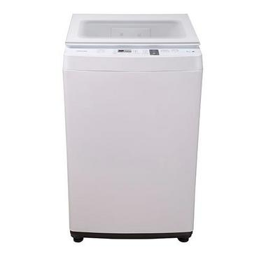 Toshiba Topload Auto Washer, 7kg, Inverter Motor, Pump, Great Wave, Glass Lid, White
