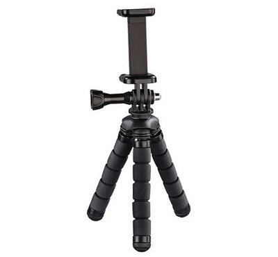 Hama Mini Tripod, Compatible for Smartphone, Black
