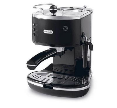 Delonghi Coffee Maker,Stainless steel espresso boiler for longer life,15 bar pump pressure,Black