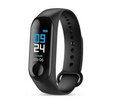 G-tab, Smart Watch, Heart Rate, Waterproof, Black