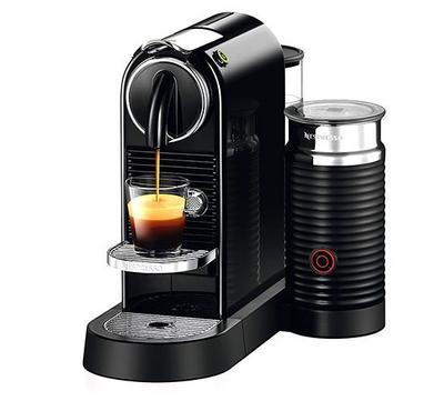 Nespresso Citiz and Milk Coffee and Cappuccino Machine, 1710W, 1L, Black