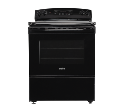 Mabe Electric Cooking Range, 4 Coil Burner,Black