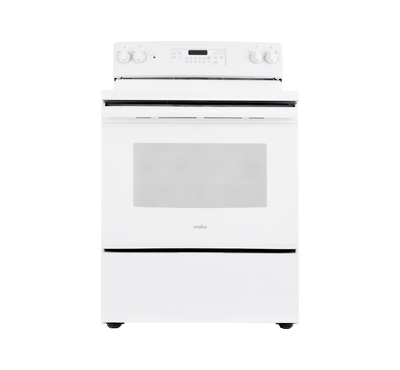 Mabe Electric Ceramic Cooking Range, 4 Radiant Burners, White