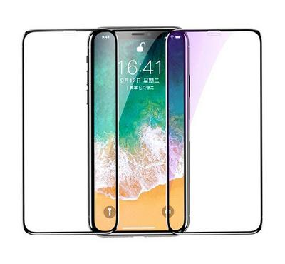Jinya Defender Glass Screen Protector, for iPhone XS and iPhone 11 Pro, Black.