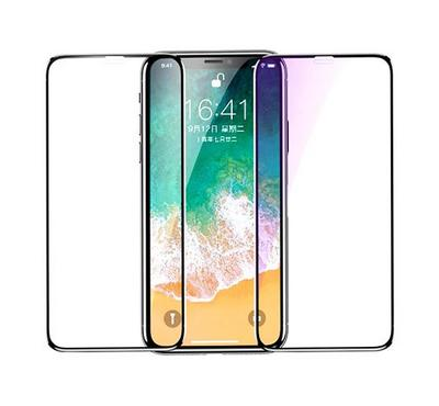 Jinya Defender Glass Screen Protector, for iPhone XR and iPhone 11, Black.